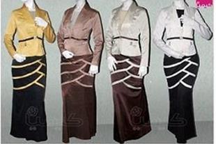 کت و دامن بلند