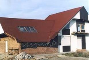 اجرای سقف های شیبدار پوشش بام شمال-عباسی