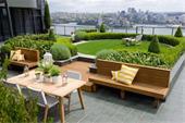 آب بندی بام باغ - طراحی بام باغ - بام سبز
