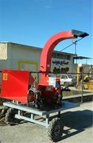 چوب خردکن هیدرولیکی با قطر چوب ورودی15سانتیمتر
