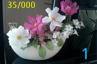 فروش و قبول سفارش گلهای کریستالی وشاخه گندم طلایی