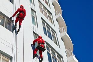 کاردر ارتفاع-دسترسی با طناب-شرکت ارتفاع کاران