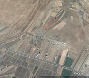 فروش زمین کشاورزی 6 کیلومتری شیروان کنار جاده سنتو - 1
