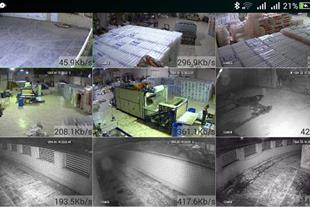 دوربین مداربسته ahd،تحت شبکه