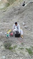 عملیات ژئوالکتریک به منظور تعیین محل حفر چاه آب
