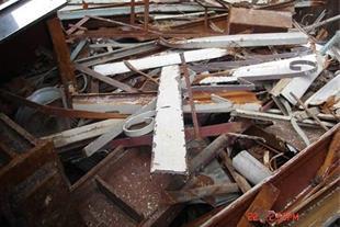 خریدار آهن الات و ضایعات ساختمانی تخریب ساختمان