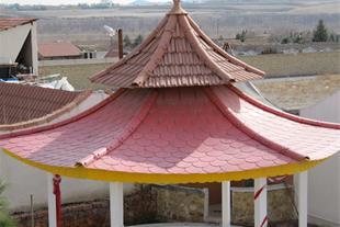 پوشش سقف ویلا