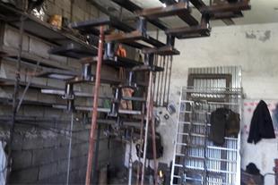 سازنده انواع پله های گردان وپیچ(مصری)تمام فلزی