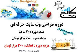 آموزش حرفه ای طراحی وب سایت