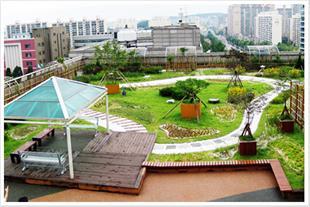 طراحی و اجرای بام سبز (باغ بام یا روف گاردن)