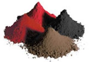 فروش اکسید آهن قرمز خلوص  98درصد و اکسید اهن سیاه
