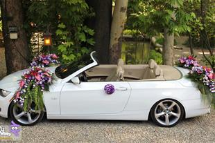 اجاره ماشین عروس ب ام و کروک و گل آرایی09211062046 - 1