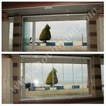 شیشه های متحرک تاشو نوین جام