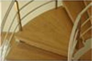پله چوبی  بلوط  20- 160-1800