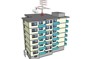 خدمات فنی ساختمان و نصب انتن در قزوین