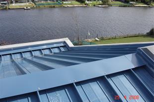 کالزیپ - پوشش یکپارچه سقف کالزیپ