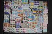 150 بلوک تمبرهای مهر نخورده بین سالهای 45 تا 57
