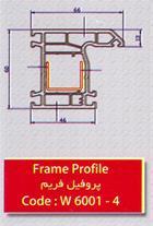 تولید کننده پروفیل های درب و سری 6000 و چهار محفظه