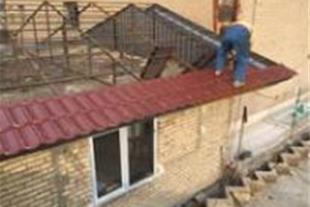 اجرای سقف های شیروانی - 1