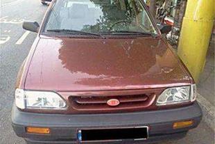 فروش پراید مدل 86 دوگانه فابریک