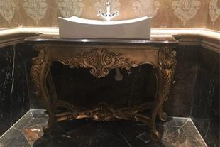کنسول تندیس و مجسمه لوکس قاب آینه