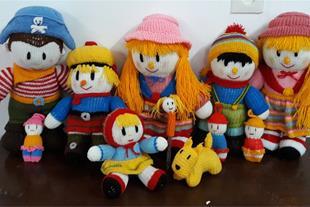 عروسک های بافتنی