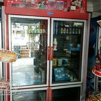 فروش یک عدد یخچال فریزر  فروشگاهی دودر