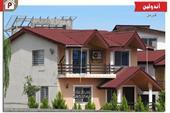طراحی و اجرای پوشش سقف ویلا