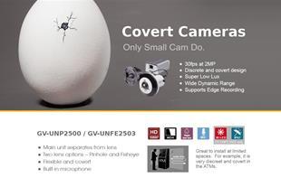 فروش دوربین لنز سوزنی تحت شبکه ژئوویژن GV-UNP2500