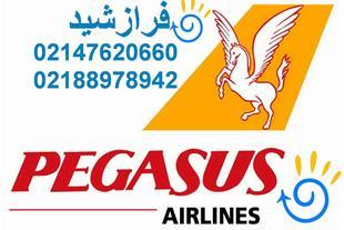 بلیط تهران - باسل با پگاسوس فرازشید