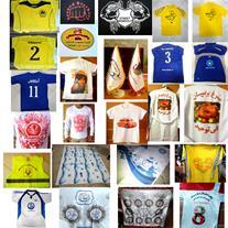 چاپ پارچه ، تیشرت ،لباس کار ،لباس ورزشی (تضمینی)