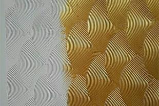 نقاشی ساختمان رنگهای جدید ، نصب کاغذ نیم پلستر