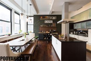 آشپزخانه ، طراحی دکوراسیون آشپزخانه - 1