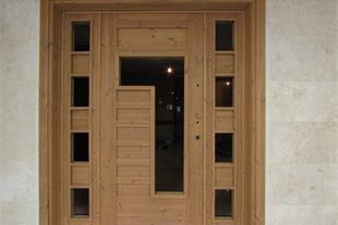 تولید درب تمام چوب و درب کابینت ، فروش درب چوبی