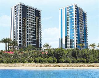 فروش آپارتمان لوکس در کیش - شهر آفتاب دید دریا - 1