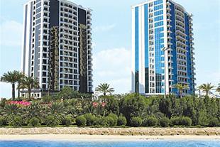 فروش آپارتمان لوکس در کیش - شهر آفتاب دید دریا