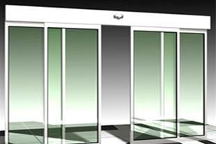 درب اتوماتیک شیشه ای - درب زیر سقفی - درب سکشنال