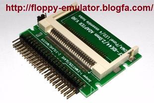 فروش مبدل کارت COMPACT FLASH  به IDE 44 PIN - 1
