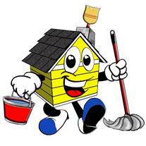 نظافت منازل و راه پله. بسته بندی و حمل وسایل خانه
