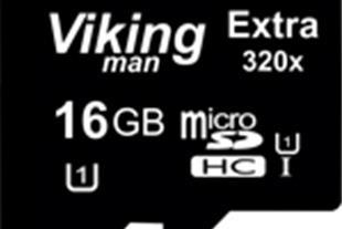 رم میکرو وایکینگ 16 گیگ 320X پکدار