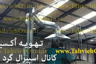 ساخت و فروش هواکش و فن سانتریفیوژ خوزستان