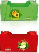 فروش کارتن پلاست ویژه ی بسته بندی میوه 09199762163 - 1