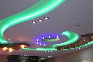 طراحی واجرای سقف کاذب کناف