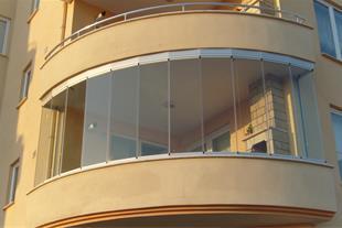 تولید  انواع شیشه بالکنی