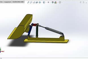 طراحی انواع پروژه های صنعتی با سالیدورکزsolidworks