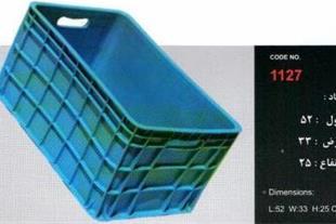 تولید سبد پلاستیک ، فروش سبد میوه - سبد مرغ و ماهی