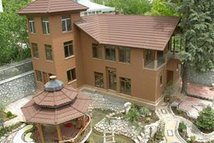 اجرای سقف شیبدار ، آردواز ، سقف ویلا  سردرب منازل - 1