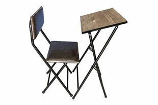 میز تحریر و صندلی تاشو