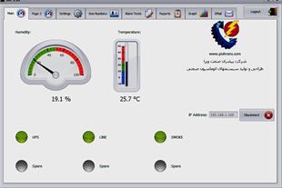 سامانه کنترل دمای دیتا سنتر و اتاق سرور
