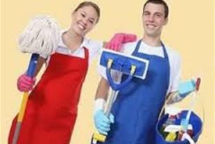 نظافت محل کار و راه پله ها در تبریز